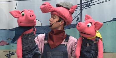 """The Three Little Pigs and B.B. Wolfe\"": A FREE Eco-Inspired Musical Theatre Show (3pm Show)"