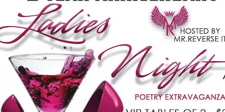 3rd Anniversary 'Ladies Night' Poetry Extravaganza tickets