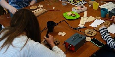 Pyrography, Adult Workshop