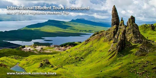 Isle of Skye & Highlands Weekend Trip Sat 27 - Sun 28 July