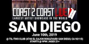 Coast 2 Coast LIVE Artist Showcase San Diego, CA -...