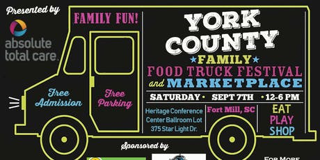 York County Family Food Truck Festival tickets