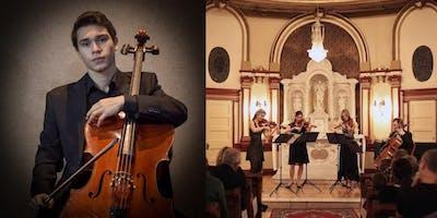 Concert apéro avec Levon Markosyan, violoncelliste et gagnant du Prix Quatrouvailles 2018