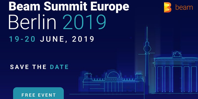 Beam Summit Europe Banner