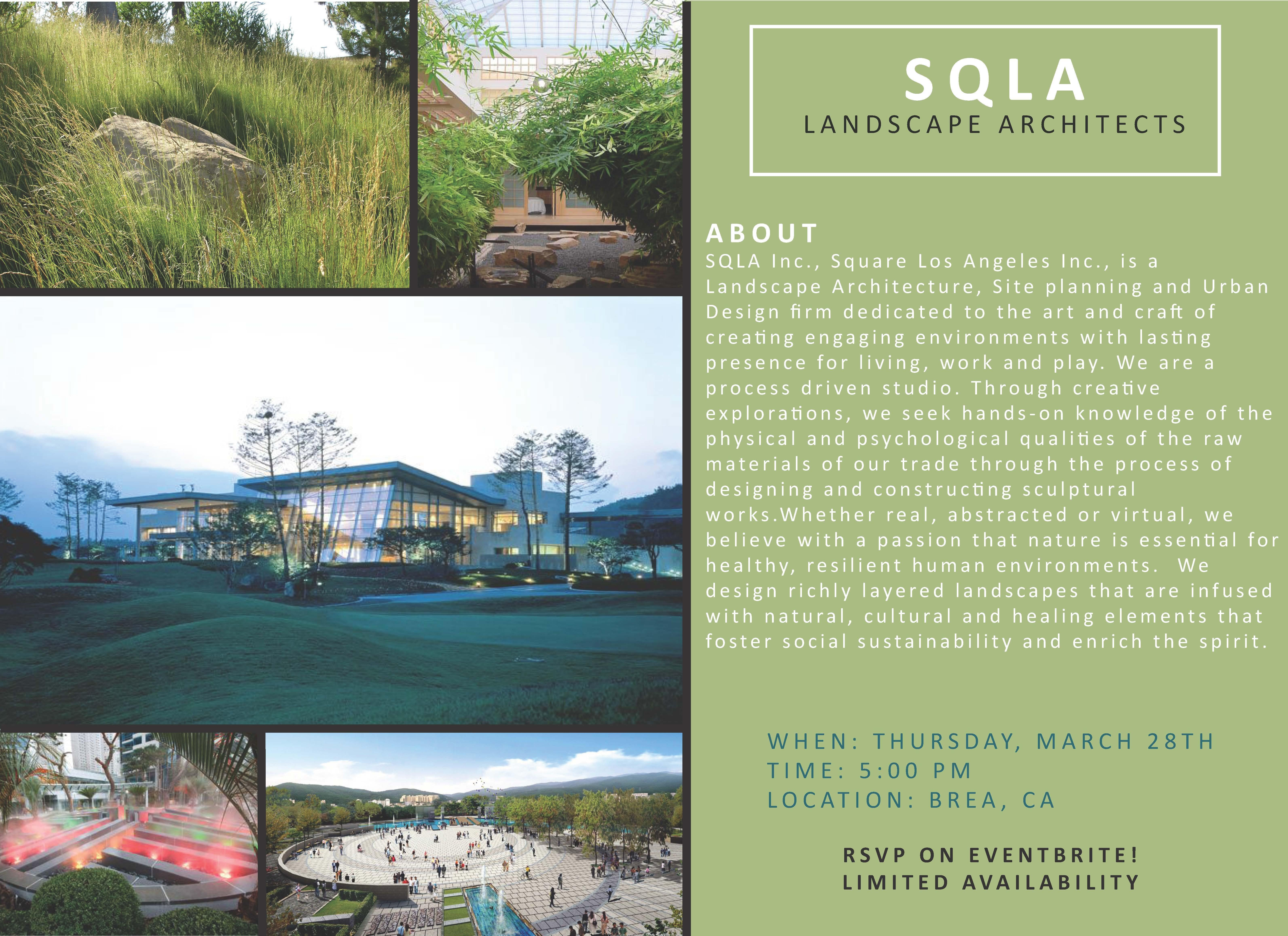 SQLA Firm Visit