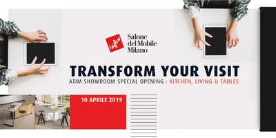 ATIM  SHOWROOM SPECIAL OPENING : KITCHEN, LIVING & TABLES