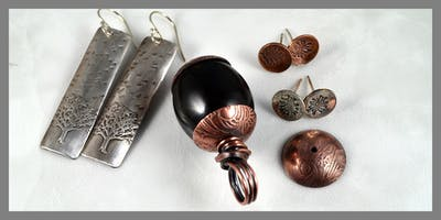 TEXTURING for METAL ART JEWELRY WORKSHOP