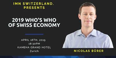 Digitalization with 2019 Who's Who Nicolas Bürer