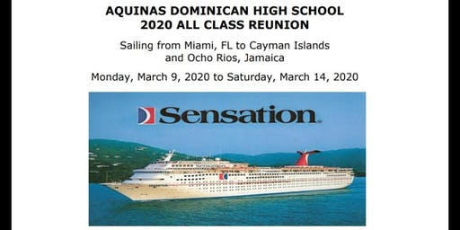 Aquinas Dominican High School All Class 2020 Reunion Cruise