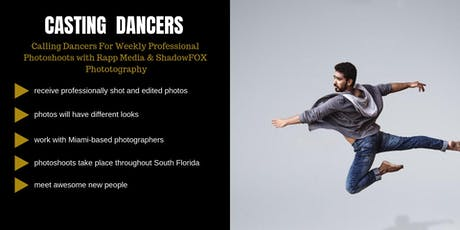 Casting Male & Female Dancers in South Florida tickets