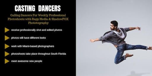 Casting Male & Female Dancers in South Florida