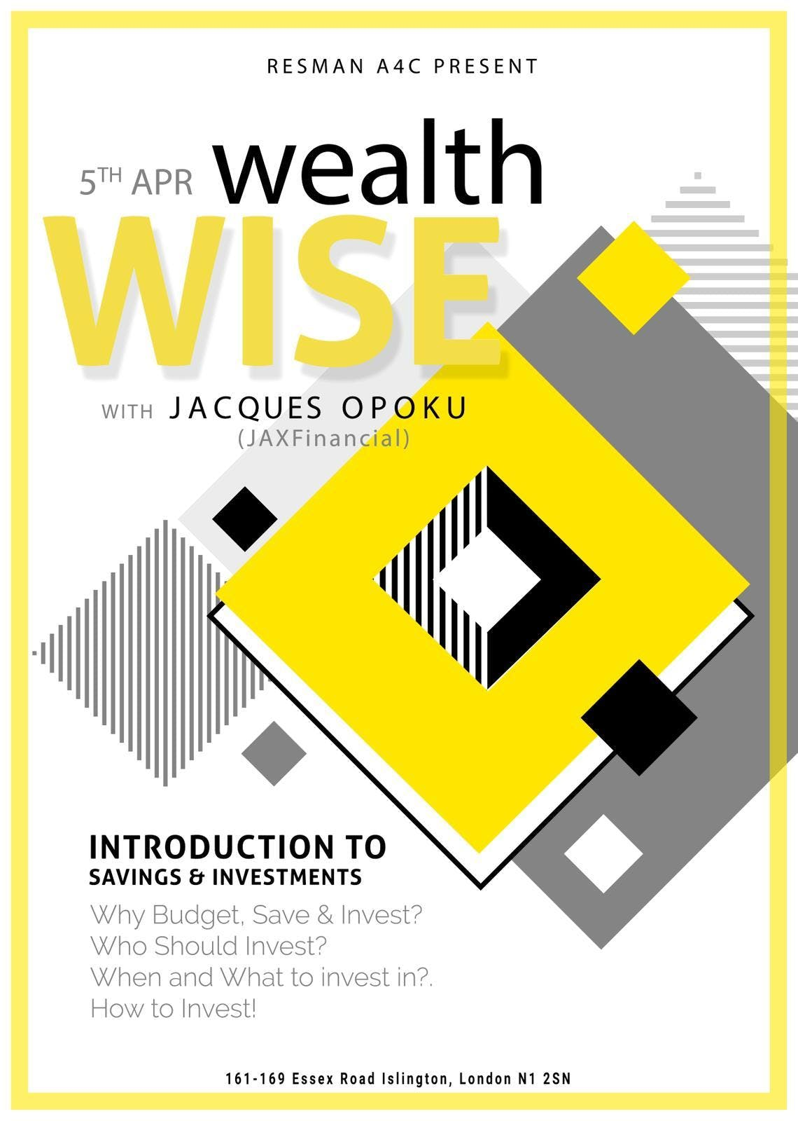 Wealth Wise with JAXFinancial (Jacques Opoku)