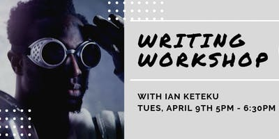 Vic Voices Writing Workshop with World Poetry Slam Champion Ian Keteku