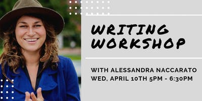 Vic Voices Writing Workshop with Award-Winning Poet Alessandra Naccarato