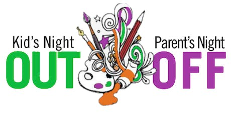 Kids Night Out (Parent Night Off - Date Nite) :: Glow In The Dark Paint Party tickets