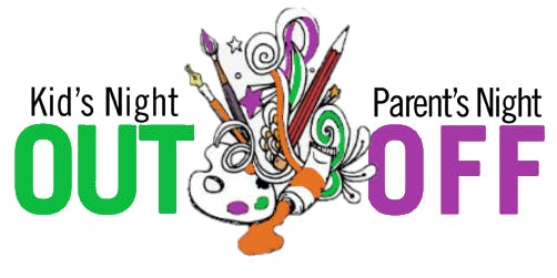 Kids Night Out (Parent Night Off - Date Nite) :: Glow In The Dark Paint Party