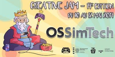 14e édition Creative Jam [Creative Jam - OSSimTech]
