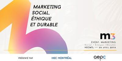 M3: Marketing social, éthique et durable