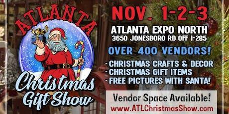 Atlanta Christmas Gift Show tickets