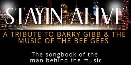 Stayin' Alive - A Tribute to Barry Gibb & The Bee Gees at Penrith Bowing Club tickets