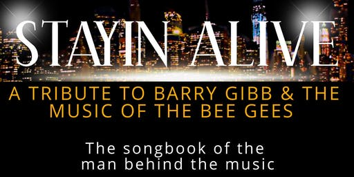 Stayin' Alive - A Tribute to Barry Gibb & The Bee Gees at Penrith Bowing Club