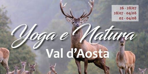 Vacanza Yoga e Natura In Val d'Aosta( weekend o settimana luglio-agosto)