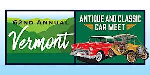62nd Annual Antique & Classic Car Meet - 2019