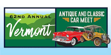 62nd Annual Antique & Classic Car Meet - 2019 tickets