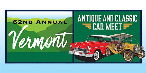 62nd Annual Antique & Classic Car Meet - 2019