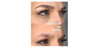 2- Day Eyebrow MicroBLADING + SHADING Training Workshop- Los Angeles, CA 6.10-6.11