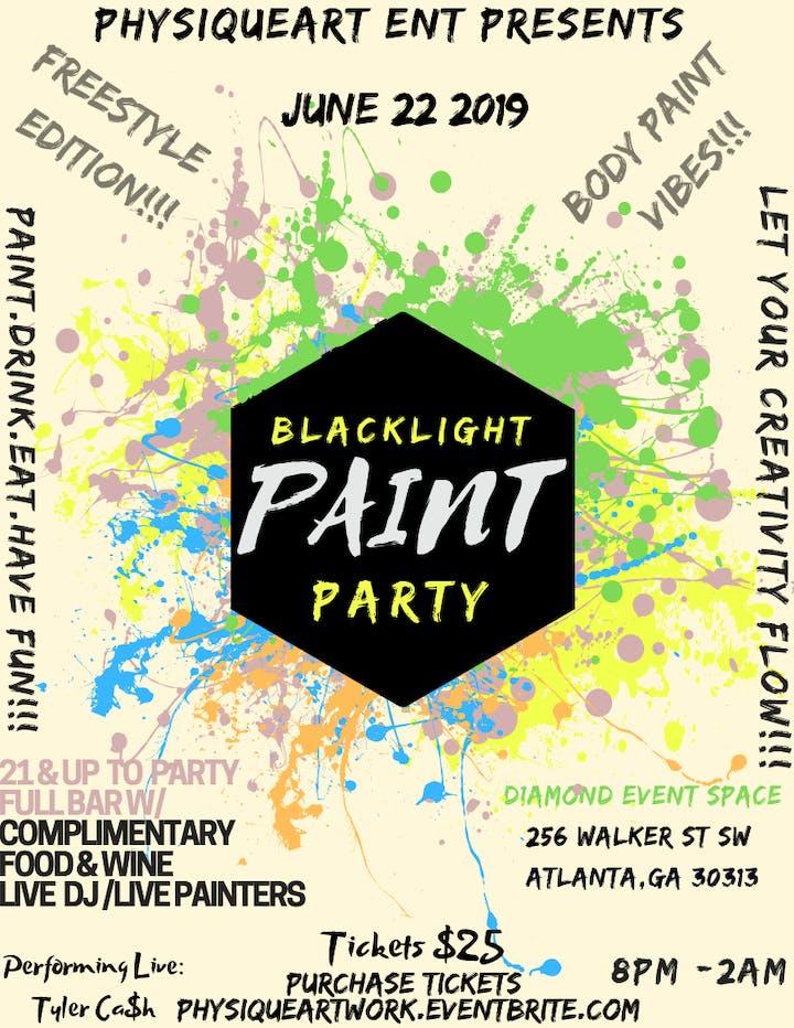 42fdd1010822 BLACK LIGHT BODY PAINT PARTY Tickets