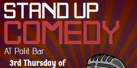 LOLPol Stand up Comedy - with CBR's funniest tickets