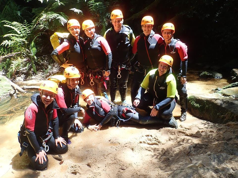Womens Empress Canyon & Abseil Adventure  Saturday 7th December