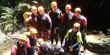 Women's Empress Canyon & Abseil Adventure // Saturday 7th December tickets