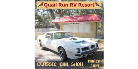 9TH Annual Classic Car Show at Quail Run RV Resort tickets