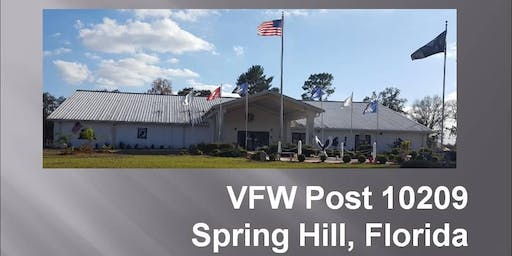 VFW Post 10209 - Friday Night Entertainment $3 Donation at Door