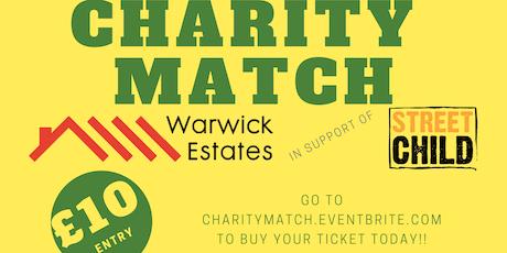 Warwick Charity Football Match tickets