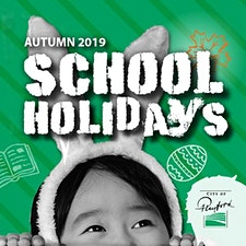 City of Playford School Holiday Activities  logo