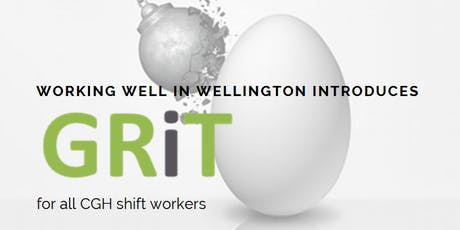 GRiT || Growing Resilience inTernally tickets