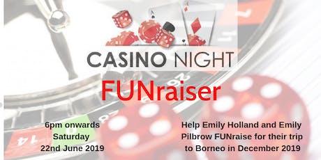 Casino Evening - FUNraising tickets