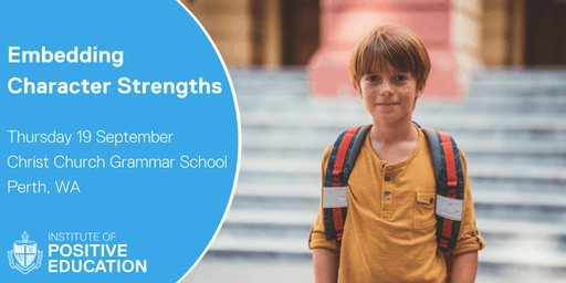 Embedding Character Strengths, Perth (September 2019)