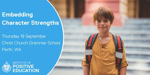 Embedding Character Strengths, Perth (September 2019)