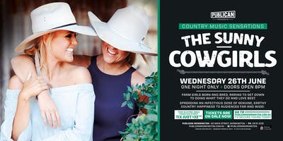 The Sunny Cowgirls LIVE at Publican, Mornington!