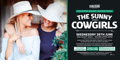 The Sunny Cowgirls LIVE at Publican, Mornington! tickets