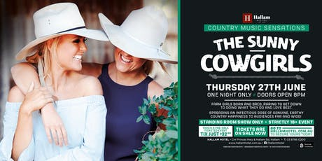 The Sunny Cowgirls LIVE at The Hallam, Hotel! tickets