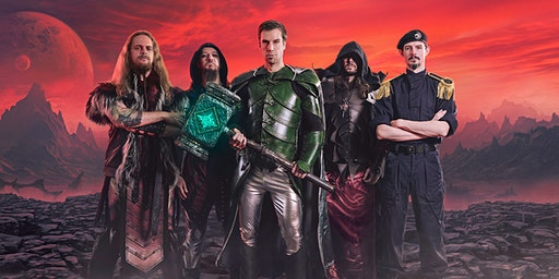 GLORYHAMMER + Nekrogoblikon + Wind Rose