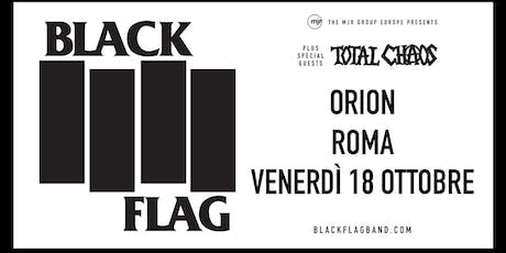 Black Flag (Orion, Roma) tickets