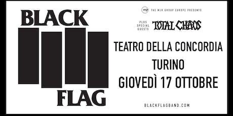 Black Flag (Teatro della Concordia, Torino) biglietti