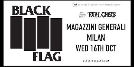 Black Flag (Magazzini Generali, Milano) biglietti