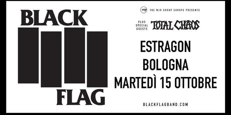 Black Flag (Estragon, Bologna) biglietti